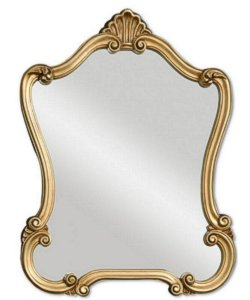 Uttermost Walton Hall Mirror Gold with Antique Specking 08340P